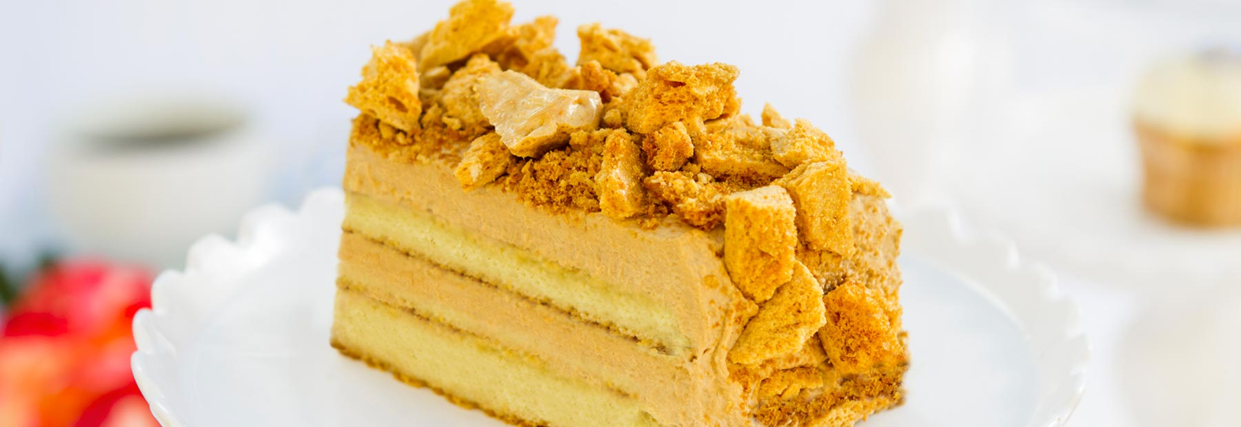 Coffee Crunch Cake
