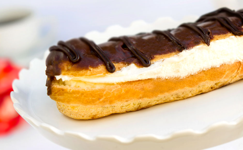 Cream-Filled Eclair