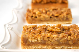 Walnut Caramel Bar